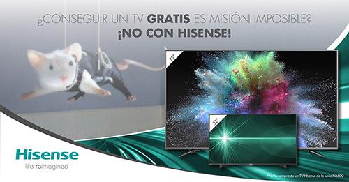 TV gratis con Hisense