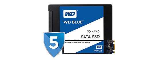 ampliación de garantía WD Blue SSD 3D Nand
